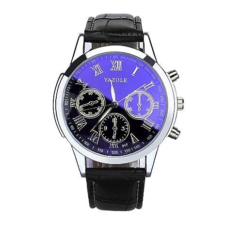 Relojes para hombre Yes Mile Watches Mode Acero Inoxidable Deporte Quartz Analógico Reloj de pulsera pulsera