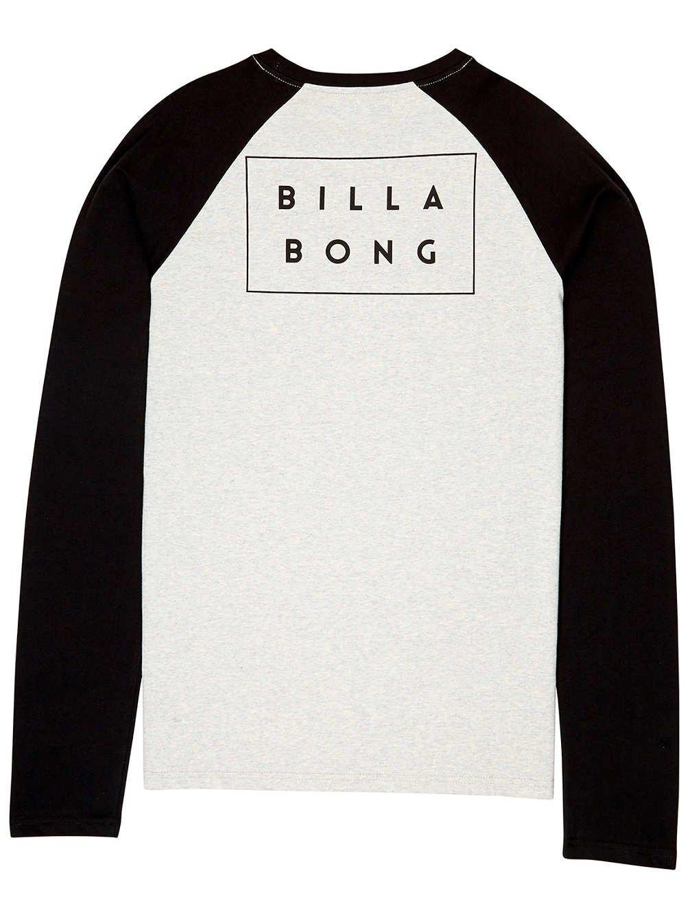 TALLA Large (Tamaño del fabricante:L). BILLABONG Die Cut LS Camiseta de Manga Larga, Hombre, Gris (Lt Grey Heather 454), Large (Tamaño del Fabricante:L)