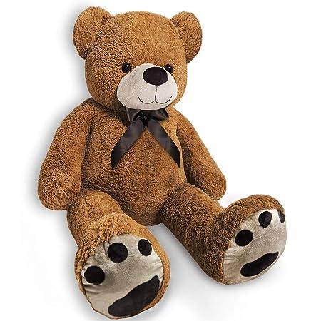 2c080cfde592 Monzana Teddy Bear L-XXL Size Choice 100cm 150cm or 175cm Soft Plush Kids  Large