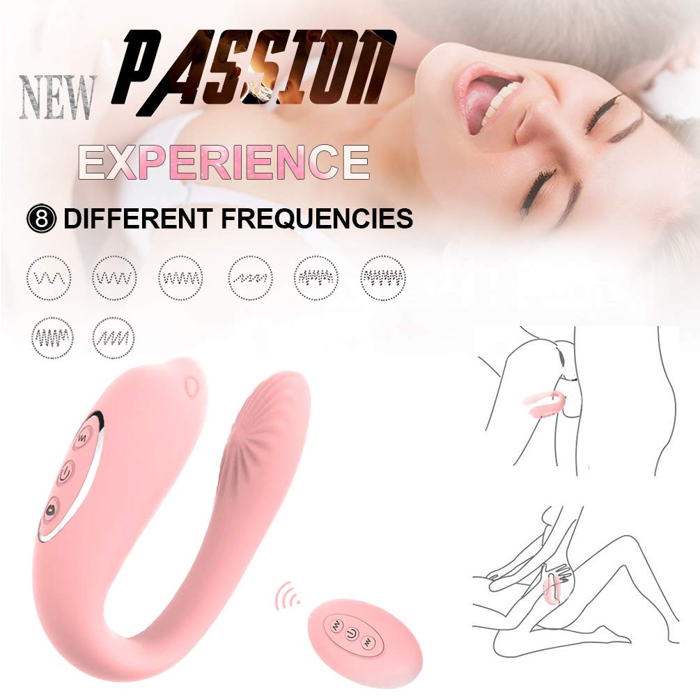 Handsfree Wireless U Shape Couple Love Stimulation Sucking Toy with Strong Patterns USB Waterproof Wand for Sore Back Foot Neck Leg by Ouwei foreign