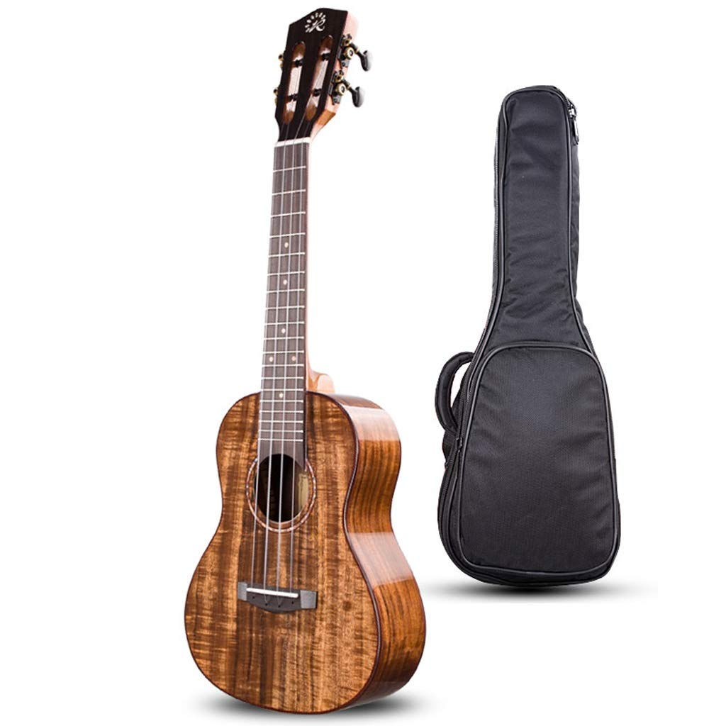 ウクレレ ウクレレ ファッションベニヤウクレレ 子供の小さなギター 成人初心者楽器 学生4弦初心者楽器 (Size : 26 inches) 26 inches  B07RL7LXRR