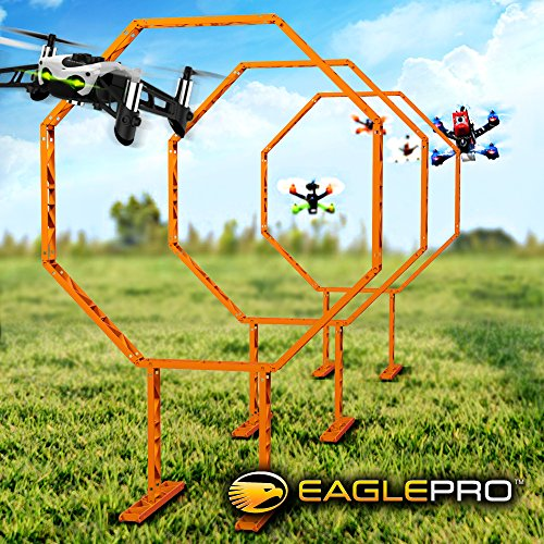 Drone Racing Obstacle Course. Easy to Build Racing Drone Kit. Create Your Own Drone Racing League. Suitable Drone Games for Kid or Adults (Amazon ()