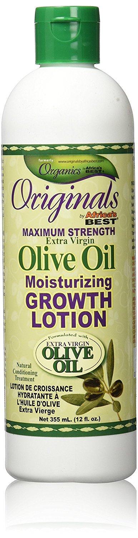 Africa's Best Lotion de Croissance l'Huile d'Olive 355 ml Africa' s Best 34285228125