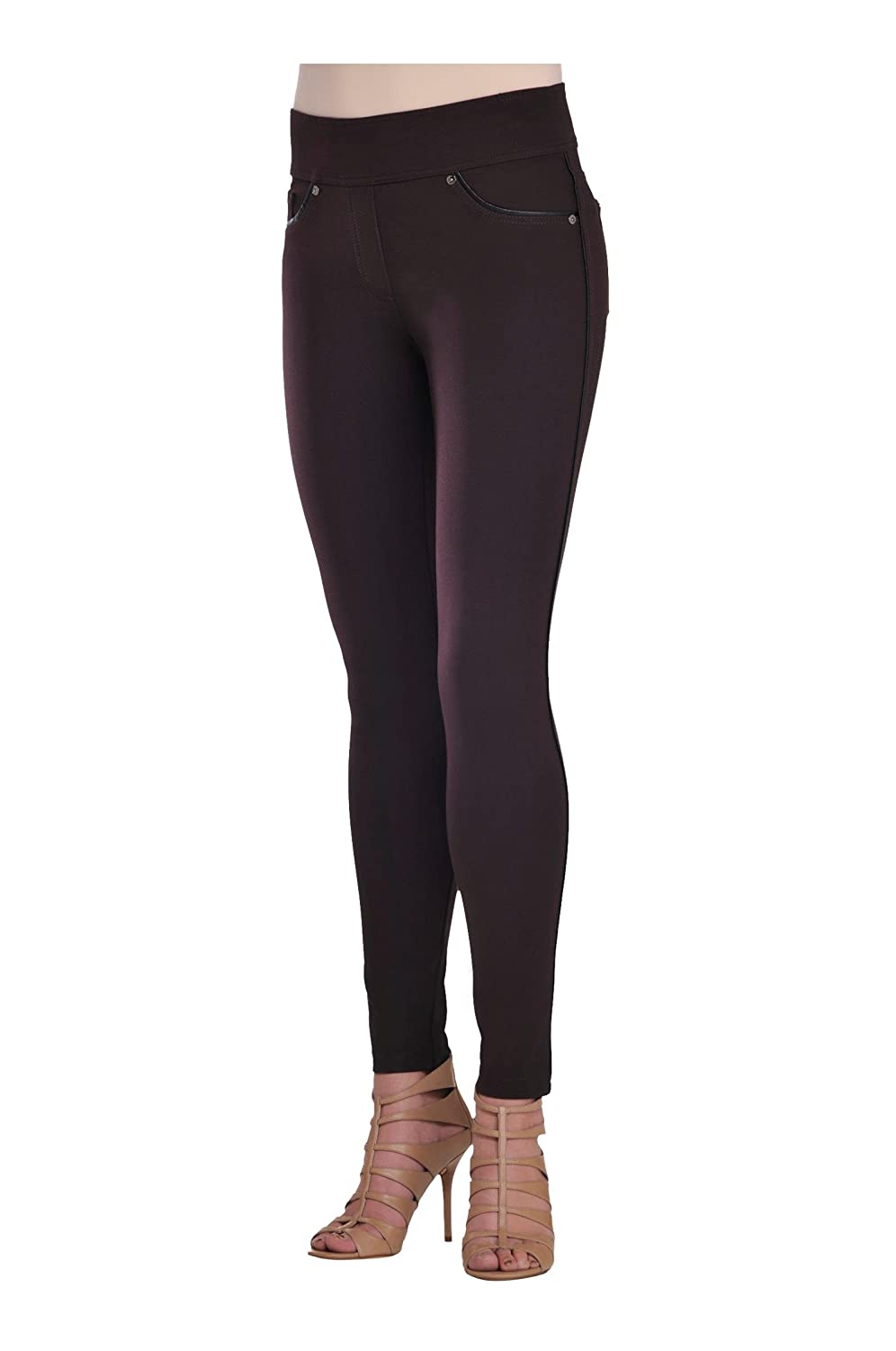 NYGÅRD SLIMS Nygard Women's Plus Size Slims 2.5 Jegging With Piping
