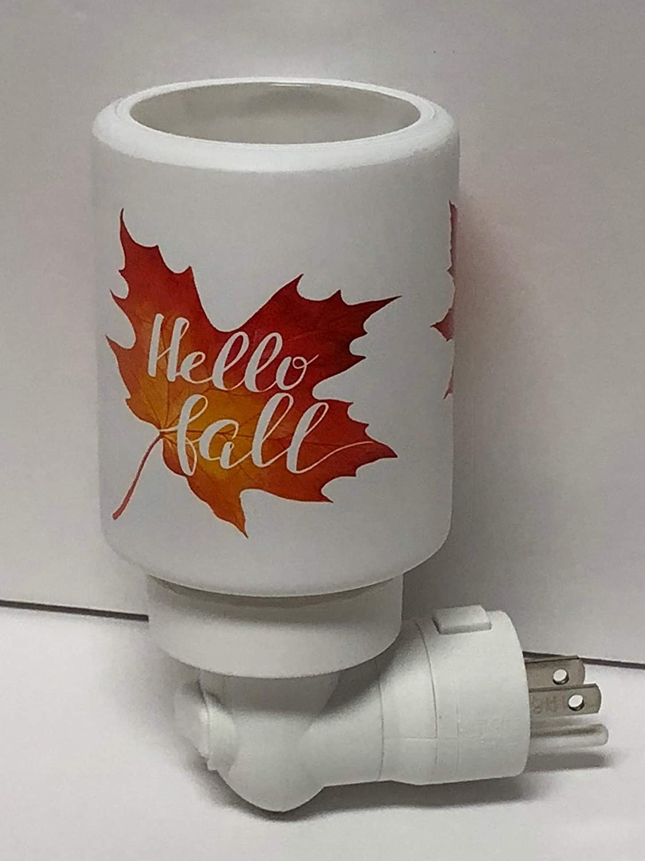 Scentsy Hello Fall Mini Night Light Plug in Warmer