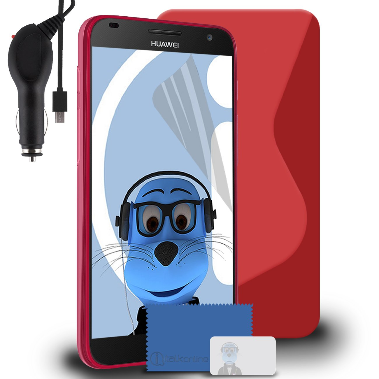 iTALKonline Huawei Ascend G7 (G7 de L01, G7 3-L03) TPU S ...