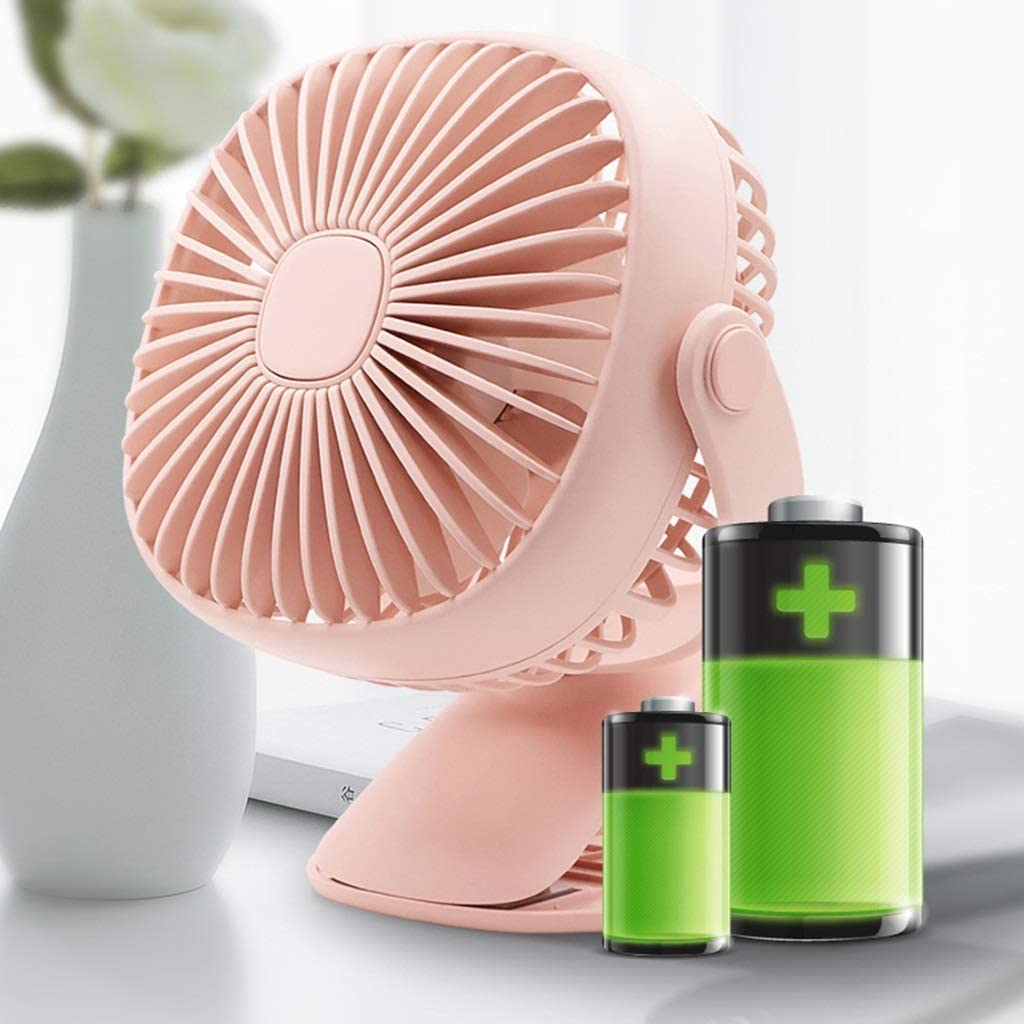 Djpcvb Mini Fan Mini USB Small Fan Bed Charging Desktop Fan Small Static Clip Mini Fan USB