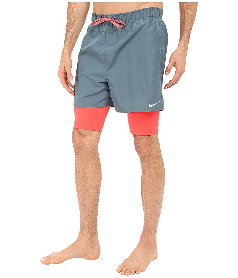 e9c880e3286b5 Nike Mens 2-In-1 Training Swim Bottom Trunks: Amazon.co.uk: Clothing