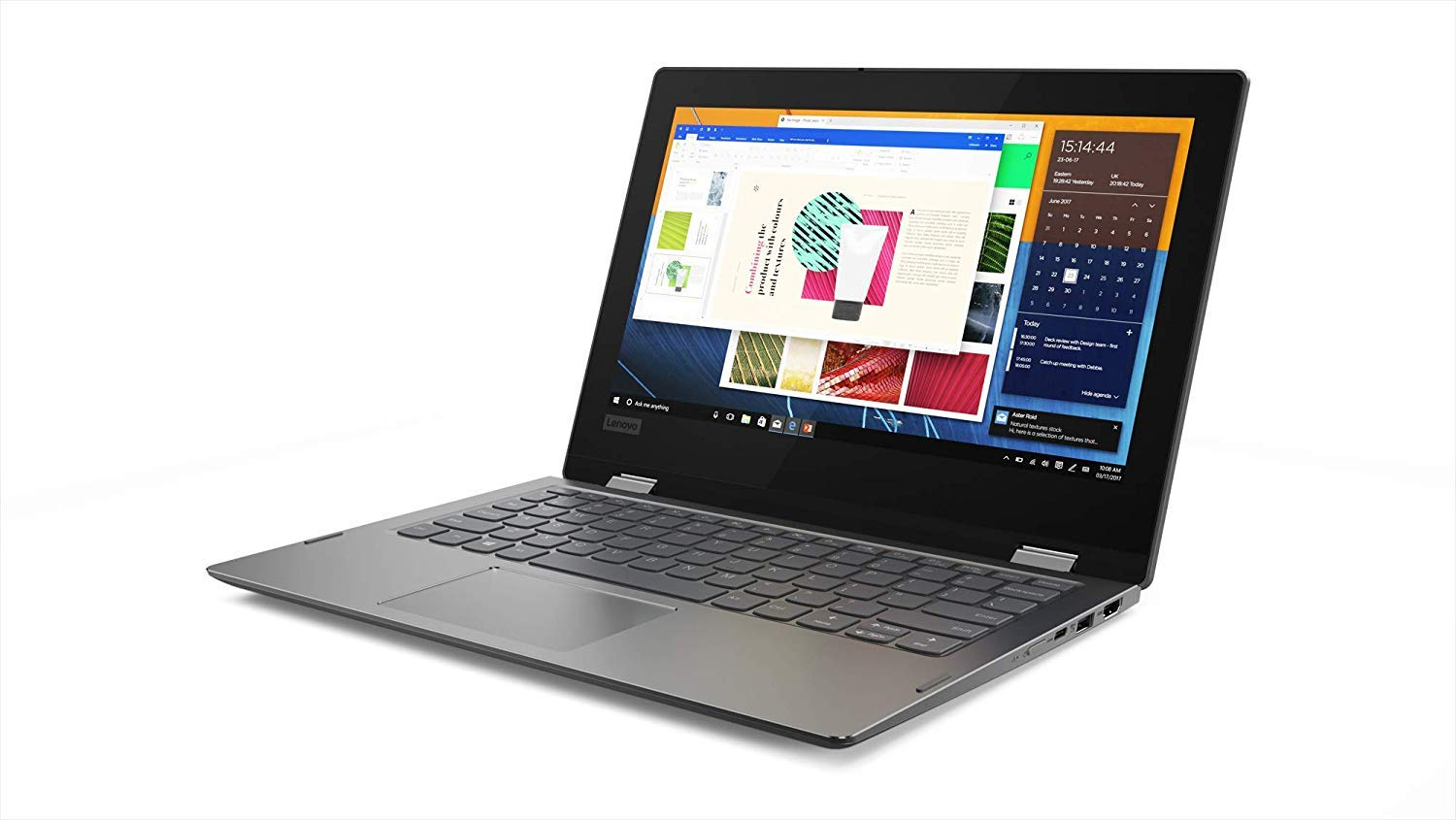 Lenovo Flex 11 2-in-1 Convertible Laptop, 11.6' HD Touchscreen Display, Intel Pentium Silver N5000 up to 2.7GHz, 4GB DDR4, 64GB eMMC, Bluetooth, Windows 10 in S mode, 1 Year Office 365 Personal, Black