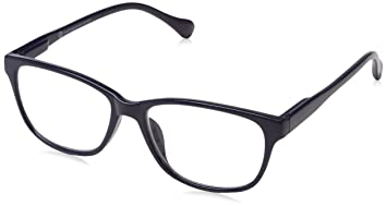 5c0aea53a0 UV Reader Navy Blue Lightweight Near Sighted Distance Glasses For Myopia  Designer Style Mens Womens Inc
