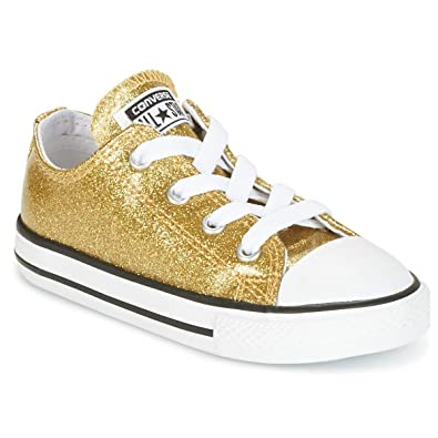 cb8ae7700b704 Converse Chuck Taylor All Star Glitter Ox Gold Synthetic 22 EU ...