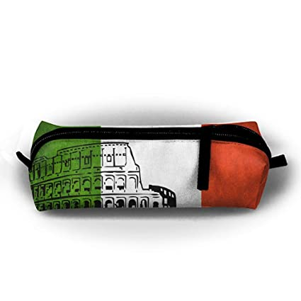 Amazoncom Pencil Case Roman Colosseum Drawing Fashion Student Pen