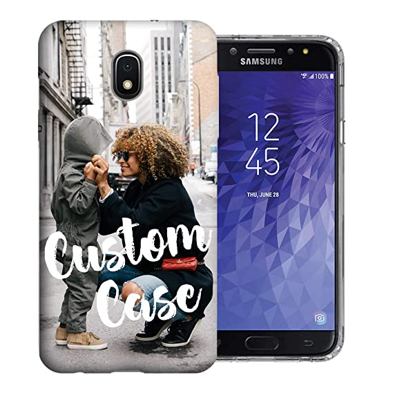 size 40 69a62 3c575 Design Your Own J3 Case, Personalized Photo Phone case for Samsung Galaxy  J3 J337 (2018) Achieve/Express Prime 3/ Amp Prime 3 Perfect Custom Case