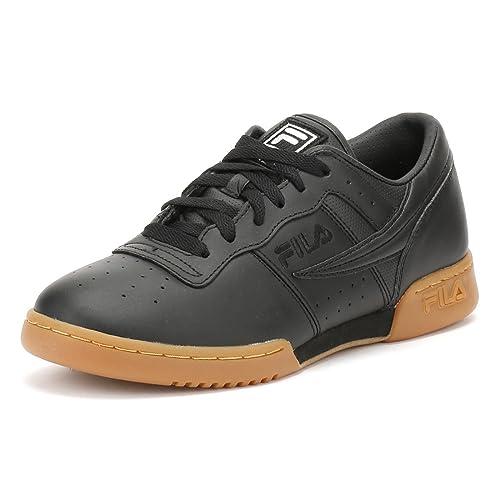 Fila Hombres Negro/Gum Original Fitness Premium Zapatillas: Amazon.es: Zapatos y complementos