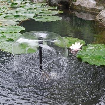 Kit Pompe Solaire 470l H Pour Bassin De Jardin Avec Panneau Solaire