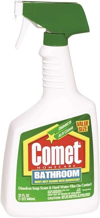 Amazon Com Comet Kitchen Bathroom Cleaner 32 Oz Health Personal Care