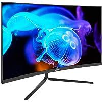 VIOTEK NBV27CB 27-Inch Curved Monitor 75Hz | 1920x1080p (FHD) 16:9 Widescreen | Low-Bezel, 1500R Curvature | Game-Ready FreeSync FPS/RTS | HDMI VGA 3.5mm | Zero-Tolerance Dead Pixel Policy (VESA)