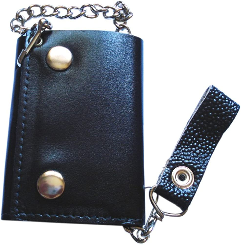 Leather iPhone Wallet Case #012 Best Trucker Wallet Truck Chain Wallet Leather Biker Wallet Trucker Wallet