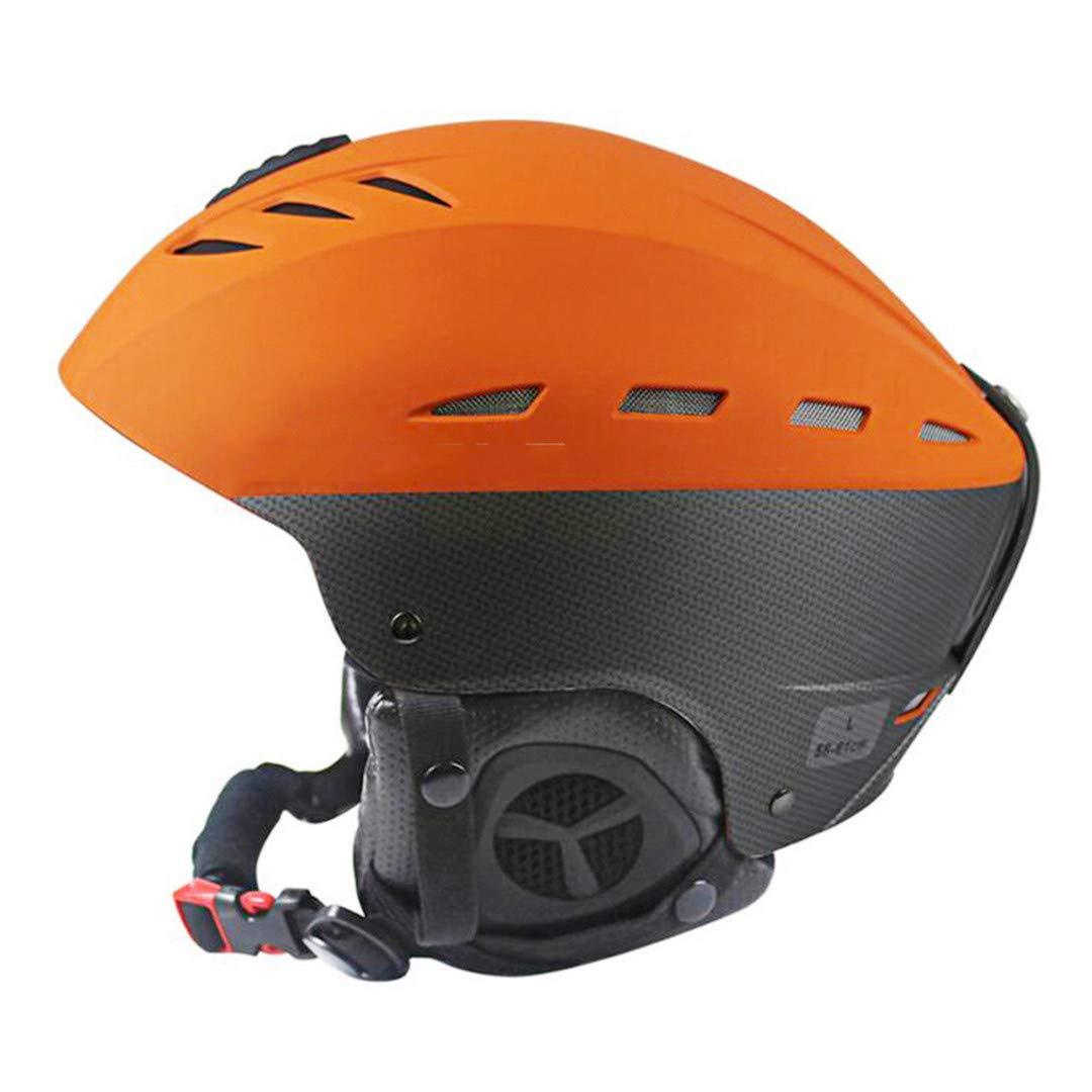 Ce-Zertifizierung Ski Helm Winter Outdoor Sports Abs + Eps Skifahren Snowboard Snow Skateboard Helm 55-61Cm B07LGKQNG2 Skihelme Neu