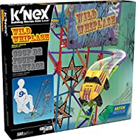K'NEX Wild Whiplash Roller Coaster Building Set Working Motor