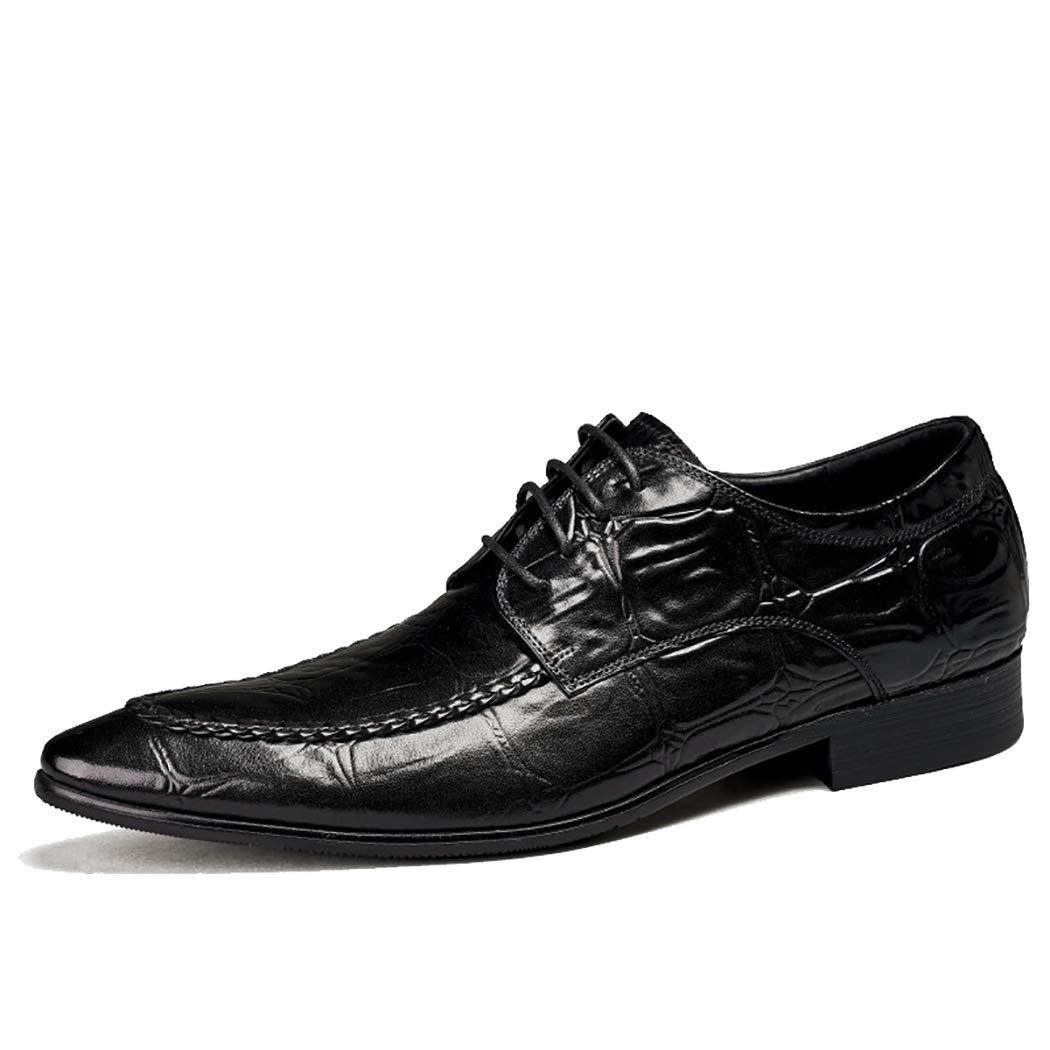 ausgekleidet Leder Schuhe Kleid Formale Klassische Pattern