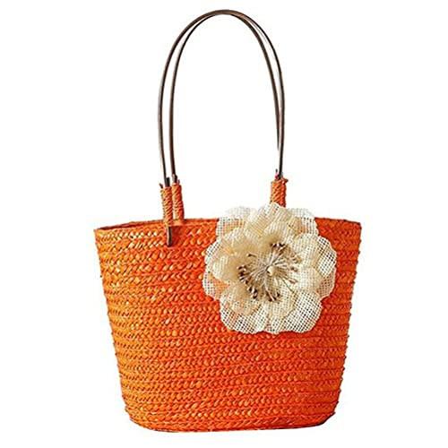 Amazon.com: donalworld Mujer Flor Hecho A Mano lindo cesta ...