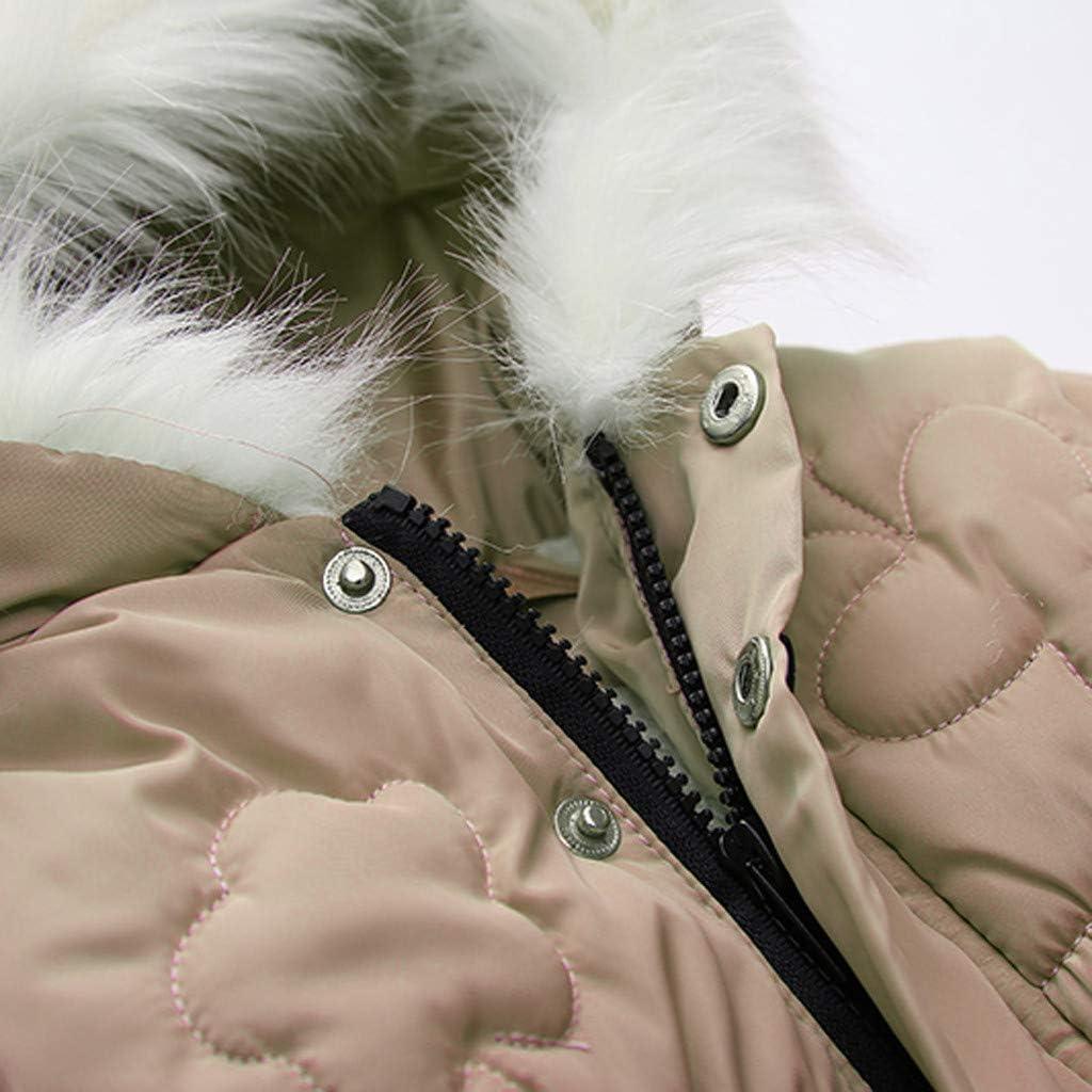 aiyvi Kinderjacke,1-9 Jahre Kleinkind Kinder Baby Jungen Sweatshirt Buchstaben M/äntel Warme Jacke Winter Tops Kleidung