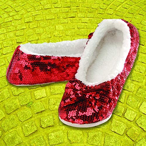 SNOOZIES WOMENS SEQUIN BLING SLIPPERS IN 6 COLOURS