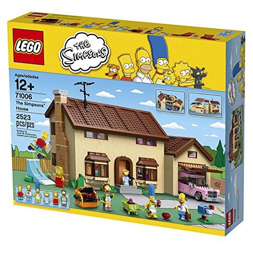 LEGO 71006 The Simpsons House Simpsons Couch