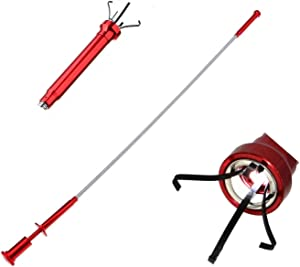 SUPERYO Magnetic Claw Pick-Up Tool Lighted Flexible Claw Grabber for Litter Pick Home Sink Garden