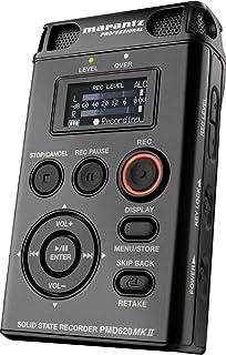 amazon com marantz pmd620 handheld sd mp3 wav recorder musical rh amazon com marantz pmd620 user manual Tascam Recorders