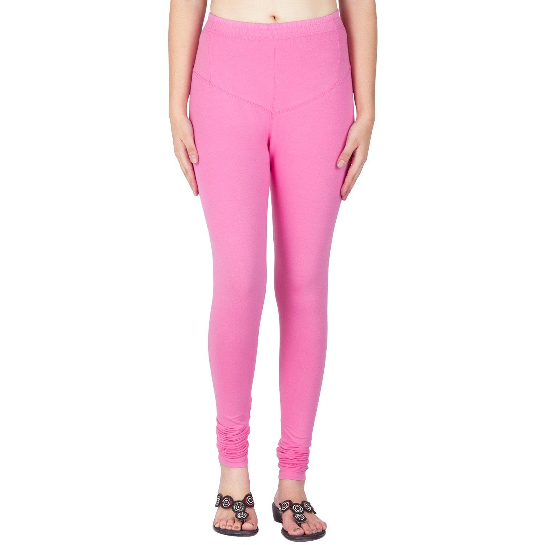 Women's Clothing Women Standard Full Length Legging Churidar Cotton Lycra Stretchable Size Xl/xxl