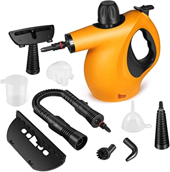 KoolaMo 9-Piece Handheld Steam Cleaner For Grout