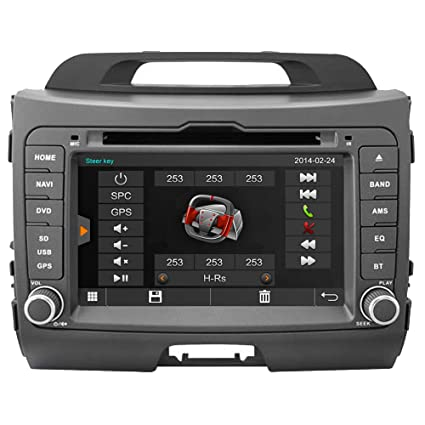 Witson for KIA Sportage 2010 2011 2012 2013 2014 2015 Car DVD GPS Sat Navigation Head