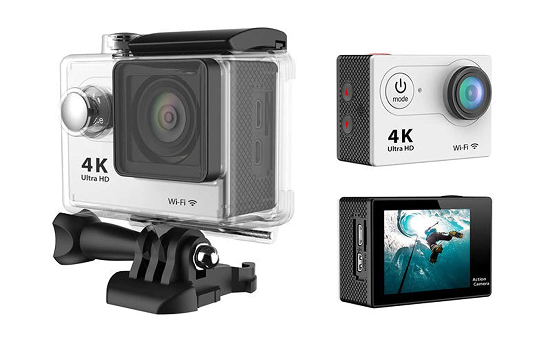 Ergou Action Camera HD 4K Wasserdichte Luftkamera DV Wifi Outdoor Reit taucherkamera