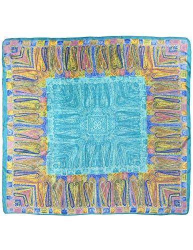 Blue Border Pattern - 8