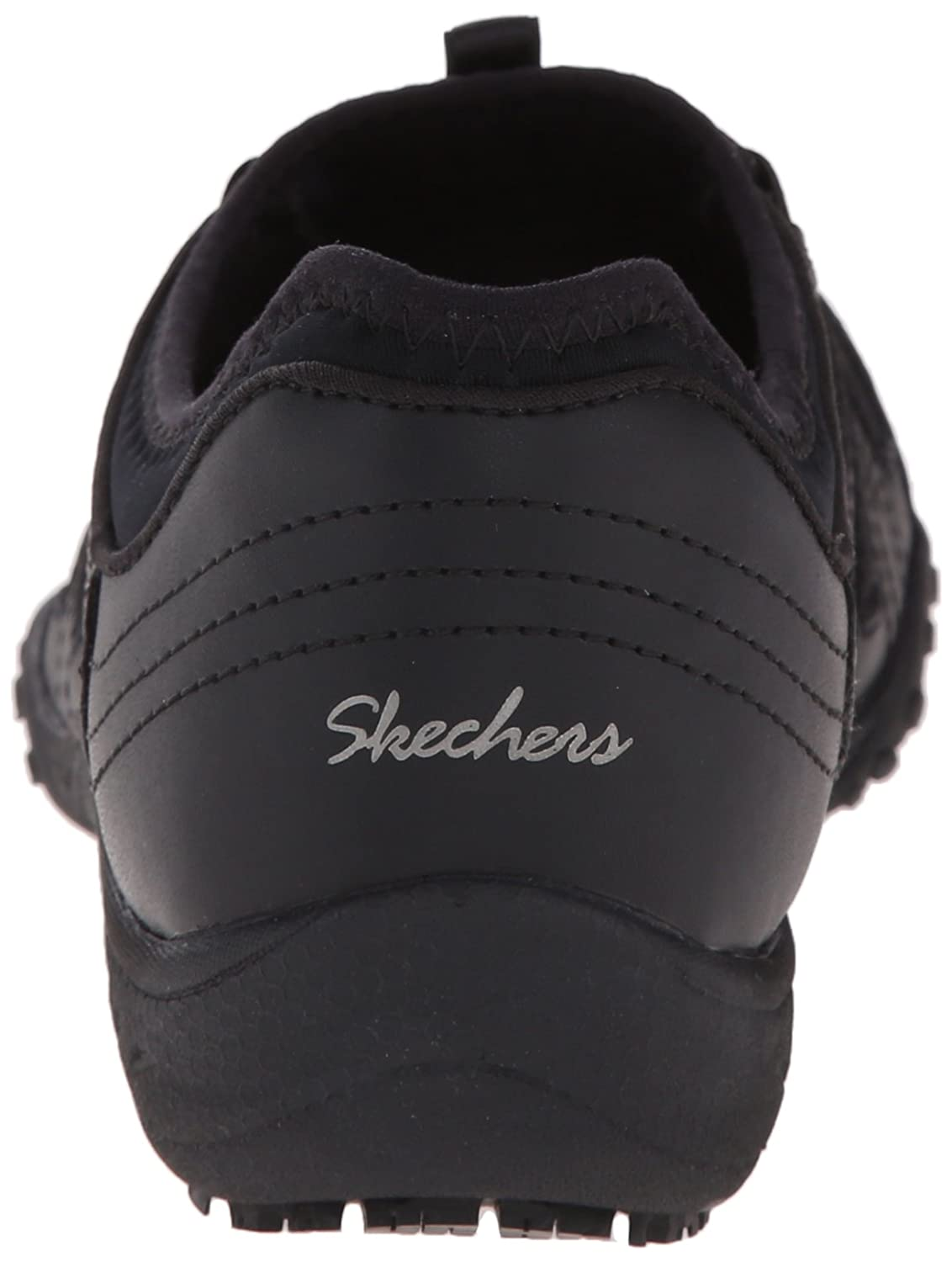4a8a98d945 Amazon.com | Skechers for Work Women's Bungee Slip Resistant Lace-Up  Sneaker | Fashion Sneakers