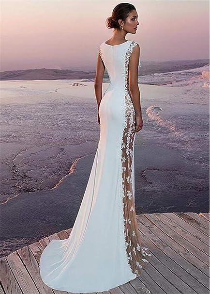 Silk White Beach Dress