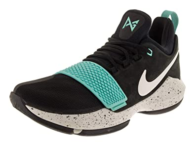 quality design 97192 6e490 Nike Men's PG 1 Black/Aqua Basketball Shoes (10.5)