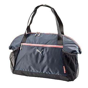 c5df0dfb0564 Puma Fit At Workout Bag (Turbulence-Turbulence-Salmon Rose)  Amazon.in   Sports