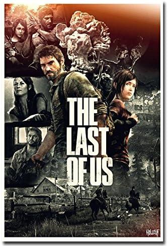 The Last Of Us Game Art Silk Poster 13x20 24x36 inch Ellie Joel 001