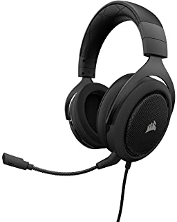 7d187547833 CORSAIR HS50 - Stereo Gaming Headset - Discord Certified Headphones - Works  with PC