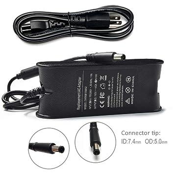 Amazon.com: tinkon AC Power Adapter 90 W Cargador para Dell ...