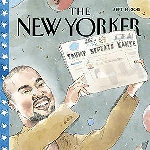 The New Yorker, September 14th 2015 (Patrick Radden Keefe, Kelefa Sanneh, Amy Davidson) Periodical