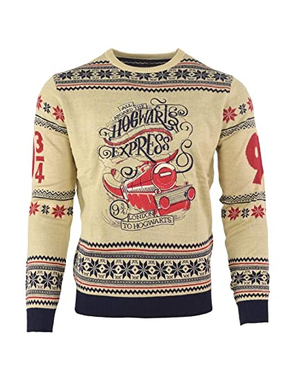 Harry Potter Christmas Jumper Ugly Sweater Hedwig for Men Women Boys and Girls