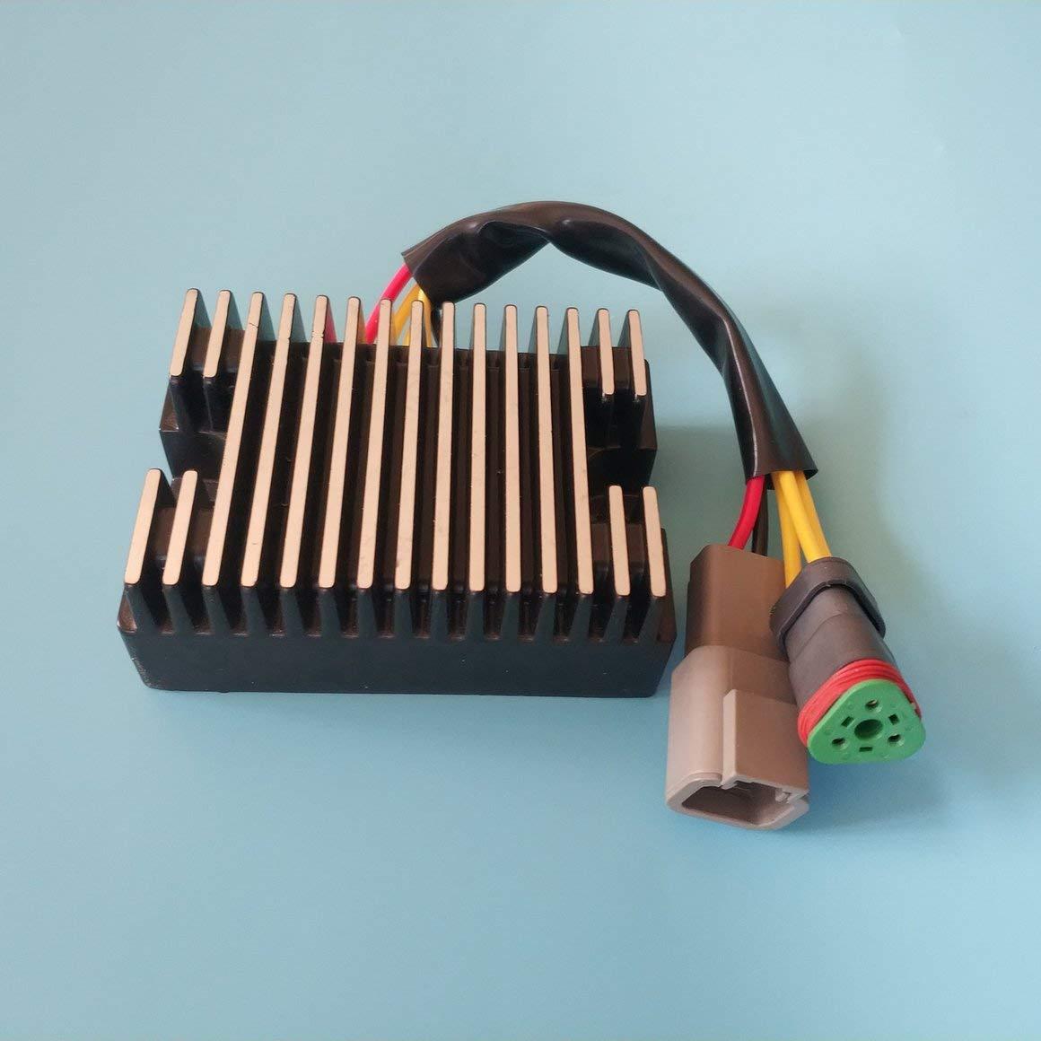 Funnyrunstore 2101.7 Raddrizzatore di tensione per SEADOO 278001581 278001969 4-6874 ESP10147 Accessori per raddrizzatore di moto ASD6001