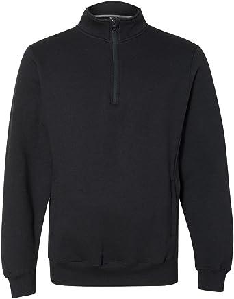 Russell Athletic Men's Dri Power Fleece Quarter Zip Cadet Sweatshirt
