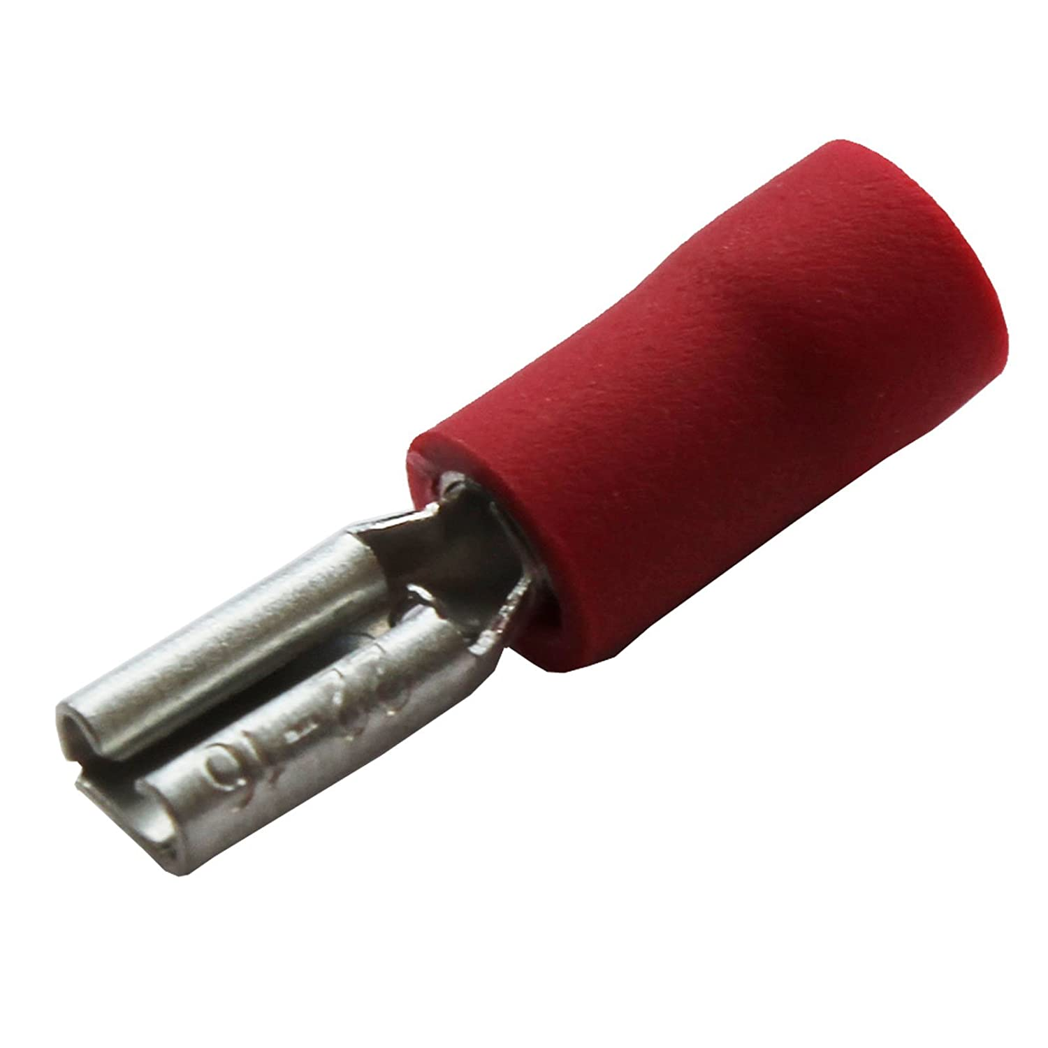 All Trade Direct 20 x Red 2.8mm Female Spade Connector Push On Car Radio Speaker Crimp Terminal
