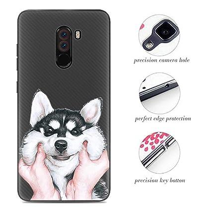 Venga amigos Silicona Funda para Xiaomi Pocophone F1 Carcasa Trasera para Xiaomi Pocophone F1 Cubierta de Excelente Absorción de Golpes, TPU Case de ...
