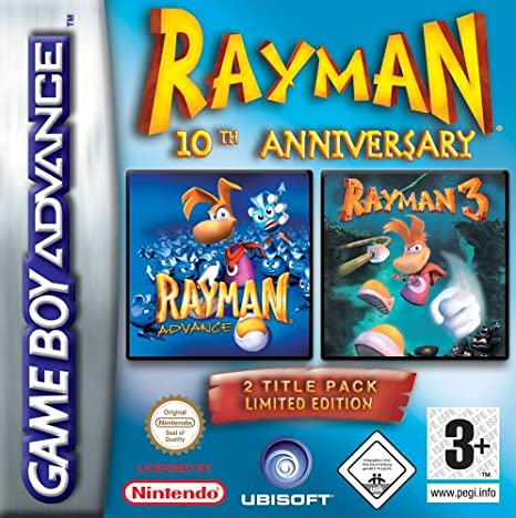 Rayman 10th Anniversary Double Pack: Amazon.es: Videojuegos